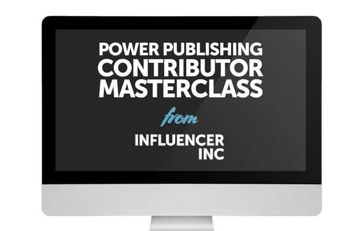 Power Publishing Contributor Masterclass by Josh Steimle