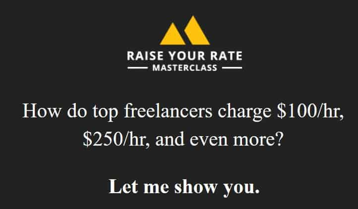 Raise Your Rate Masterclass Summit by Danny Margulies