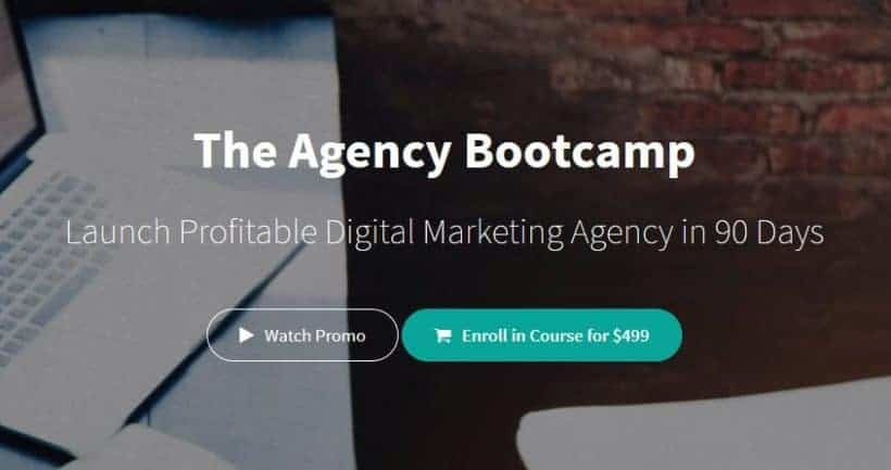 The Agency Bootcamp by Gabriel seojungle 2018
