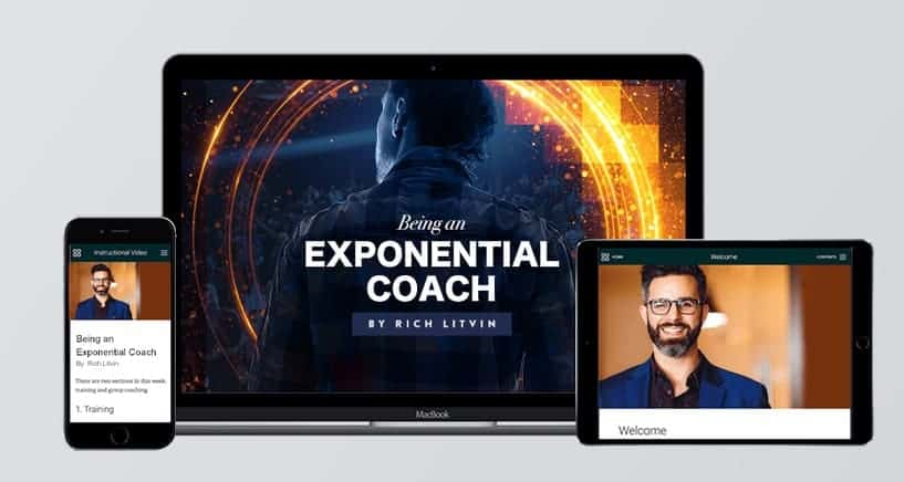 Being an Exponential Coach by Rich Litvin