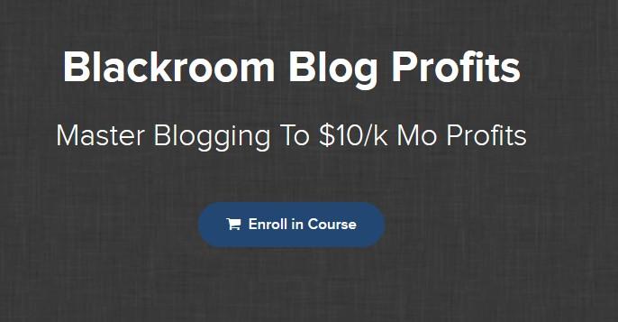 Blackroom Blog Profits by Jon Dykstra