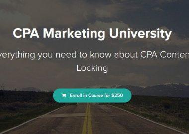 CPA Marketing University by Brandon Belcher