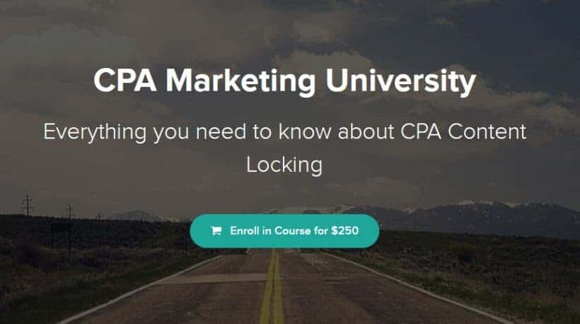 CPA Marketing University by Brandon Belcher