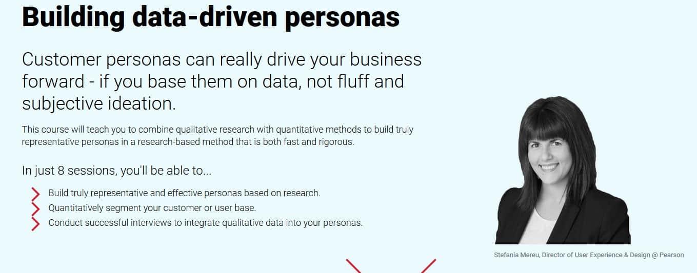 Conversionxl Building data-driven personas by Stefania Mereu