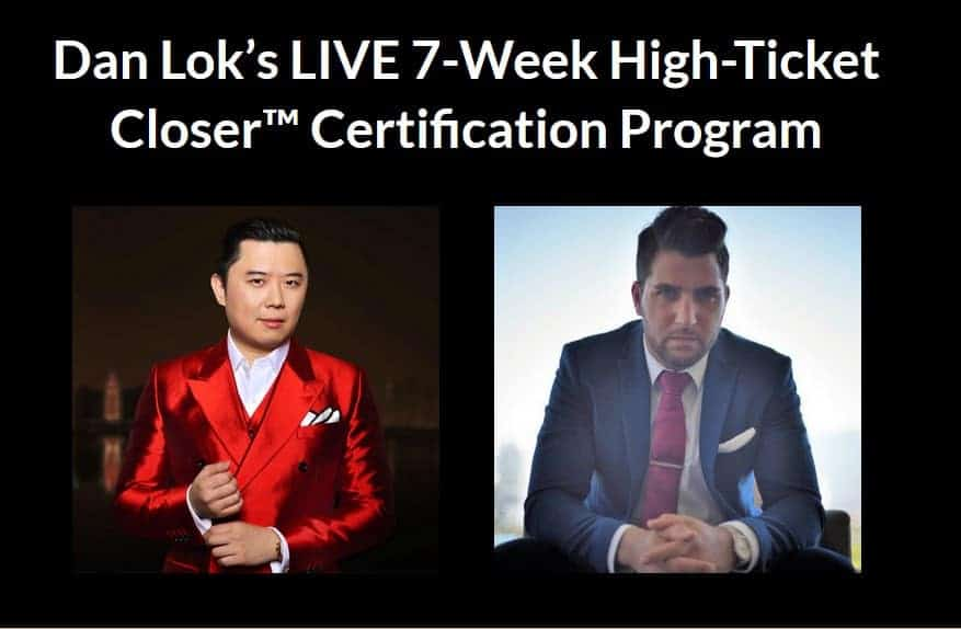 High Ticket Closer Certification by Dan Lok
