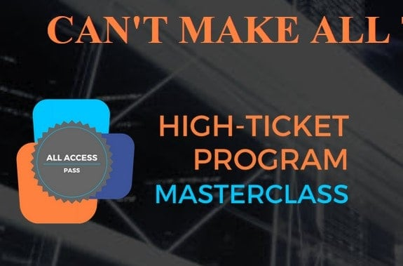 High-Ticket Program Masterclass by Frank Bria