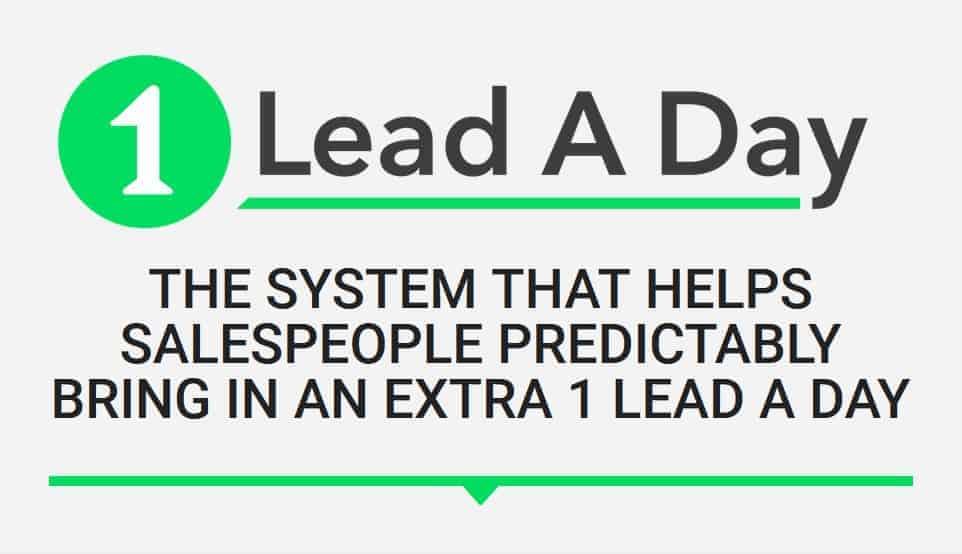 1 Lead A Day by Bryan Kreuzberger