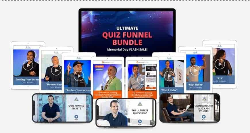 Ryan Levesque Ultimate Quiz Funnel Bundle