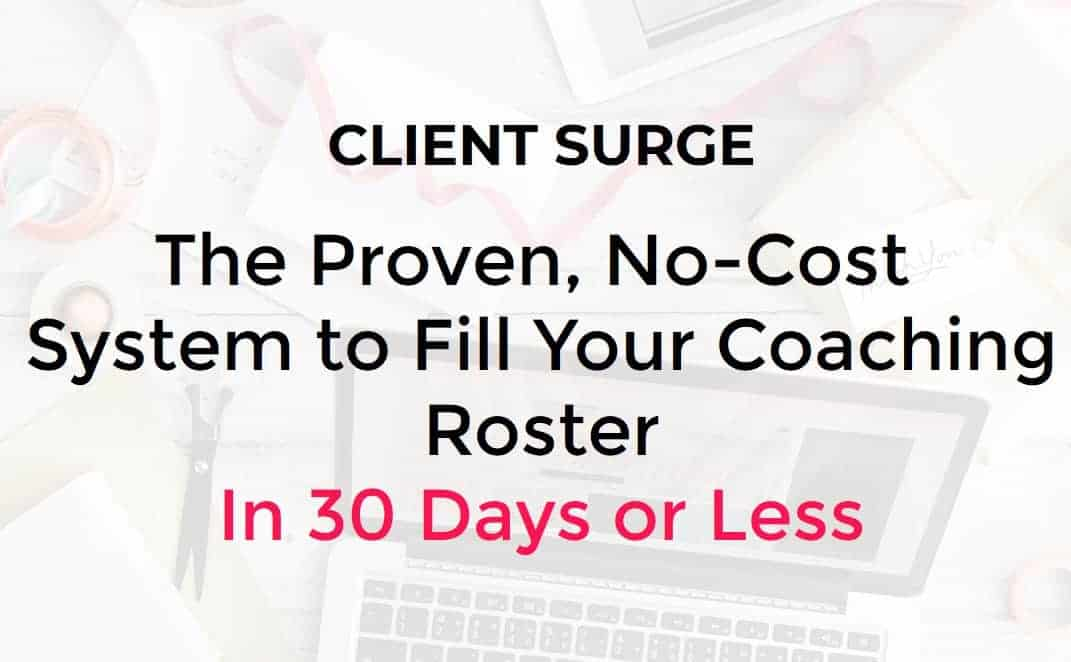Client Surge System Course by Dallas Travers