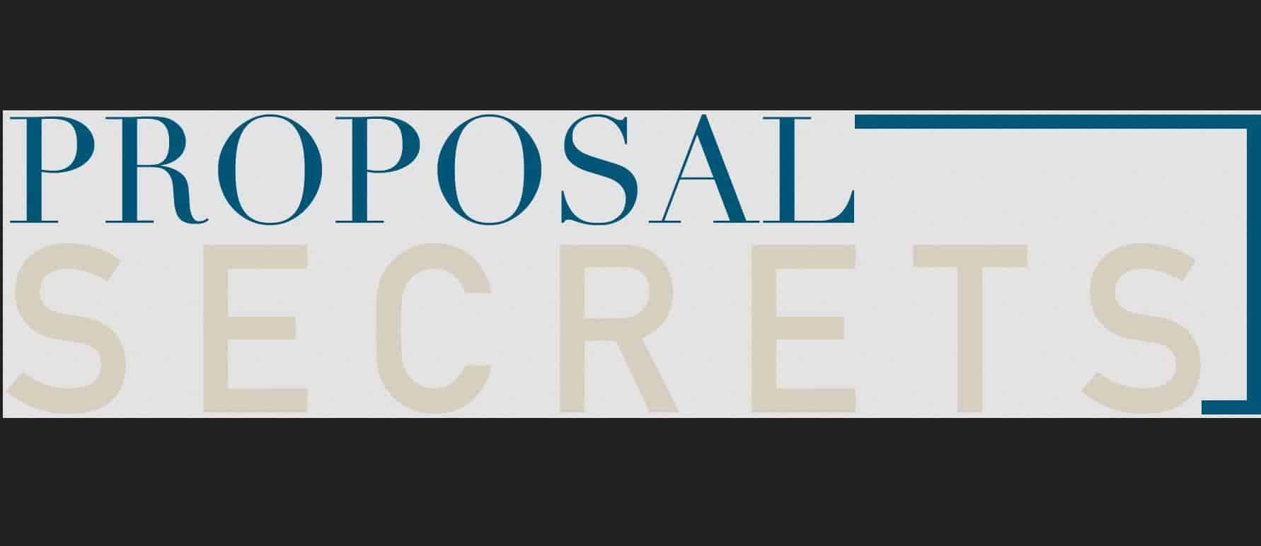 Proposal Secrets by Julie Stoian