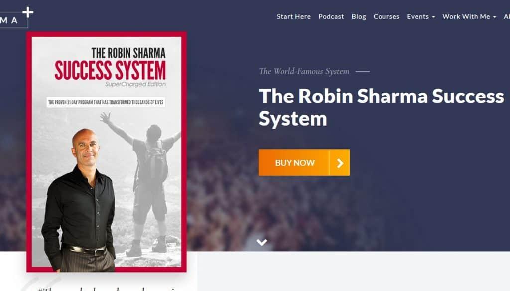 Robin Sharma Success System