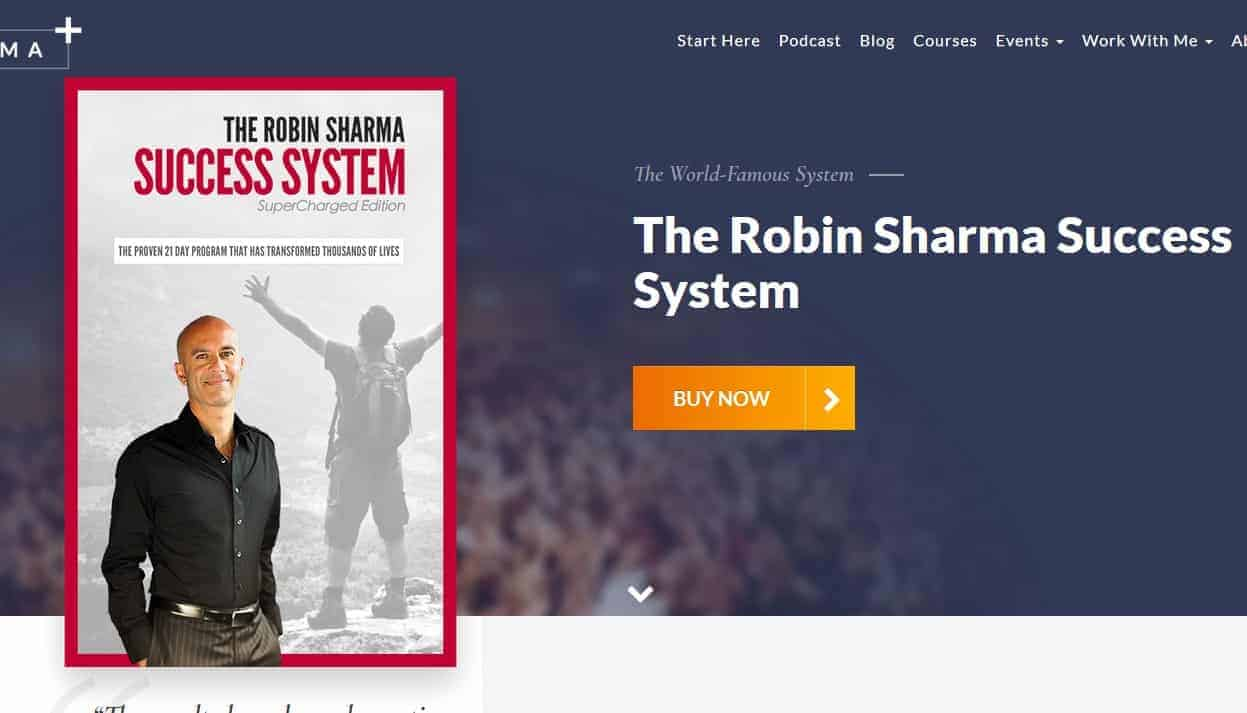Robin Sharma Success System