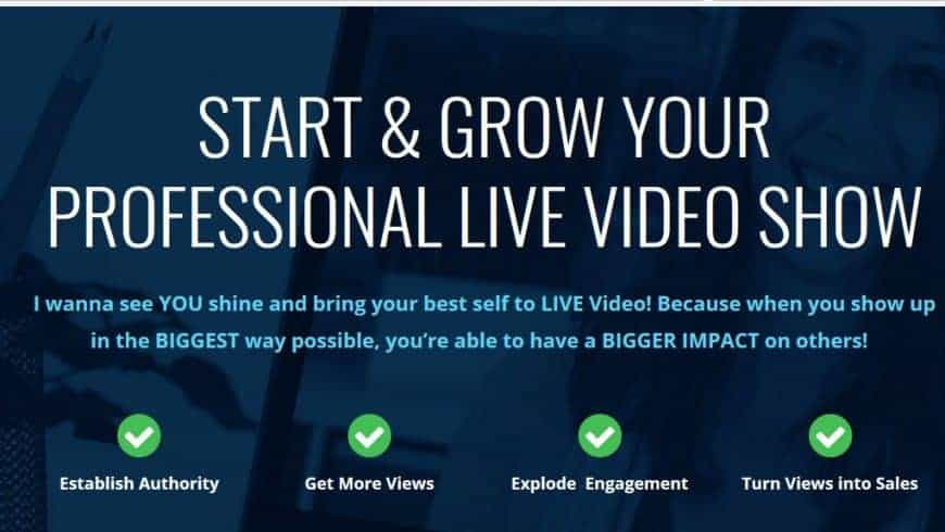 Start & Grow Your Professional Live Video Show by Luria and David