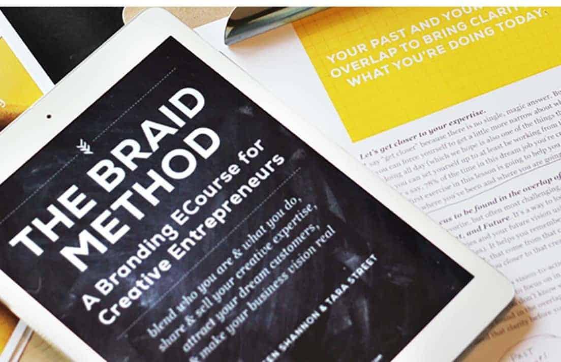 The Braid Method Branding Ecourse
