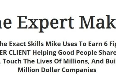 The Expert Maker by Mike Shreeve