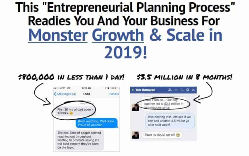 The Entrepreneurial Planning Process by Todd Brown