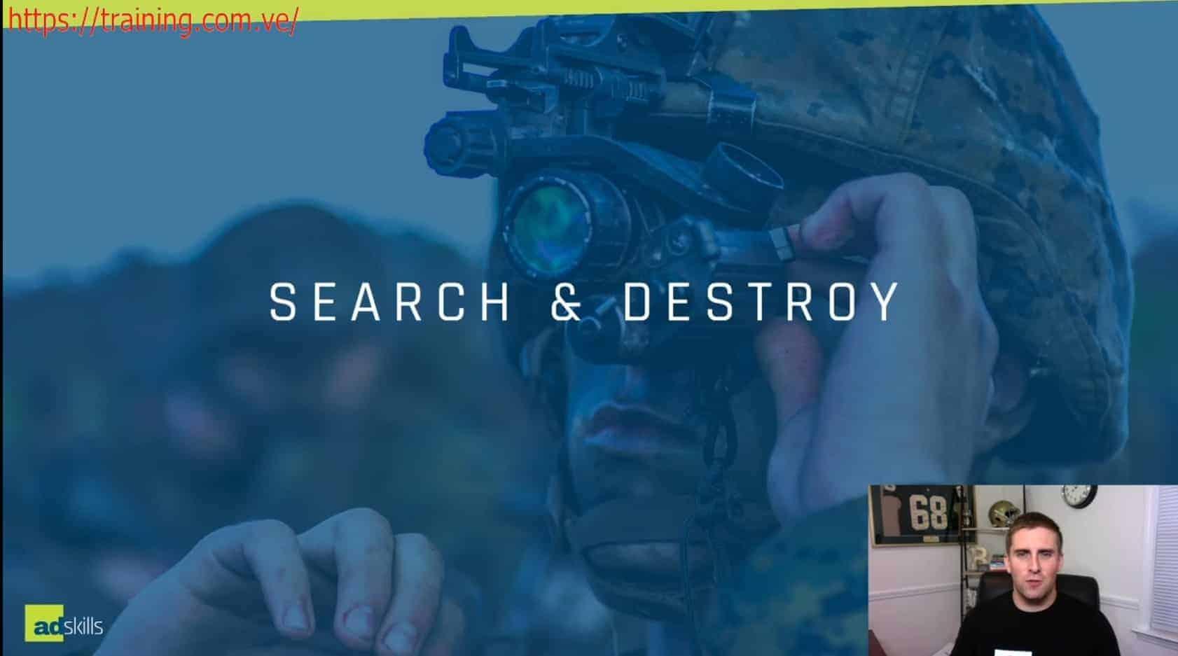 Search & Destroy Bootcamp by Justin Brooke John Belcher