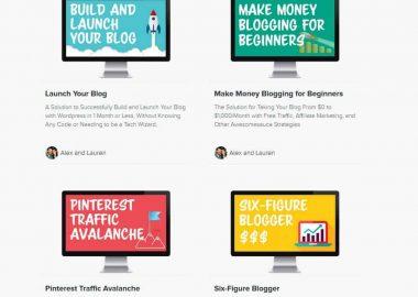 Pro Blogger Bundle by Alex and Lauren createandgo