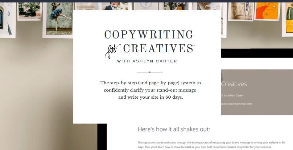 Copywriting For Creatives by Ashlyn Carter