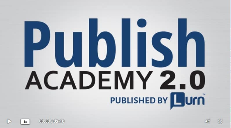 Publish Academy 2.0 by Andrew Lantz