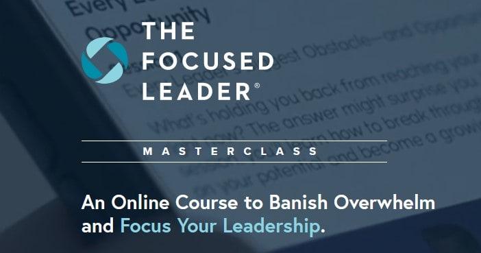 The Focused Leader by Michael Hyatt