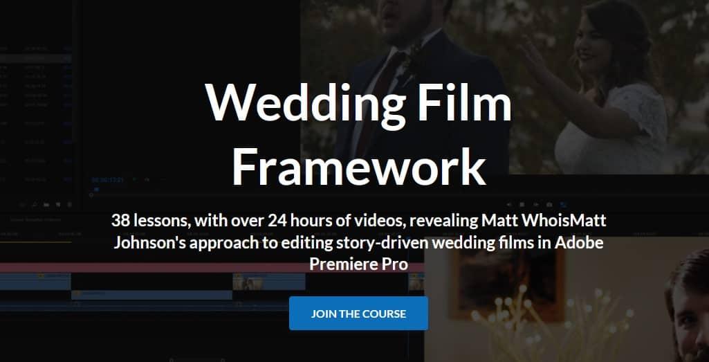 Wedding Film Framework by Matt Johnson