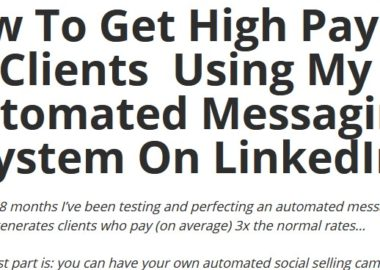 Automated LinkedIn Prospecting by Mike Shreeve