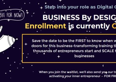 BUSINESS By DESIGN 2019 by James Wedmore