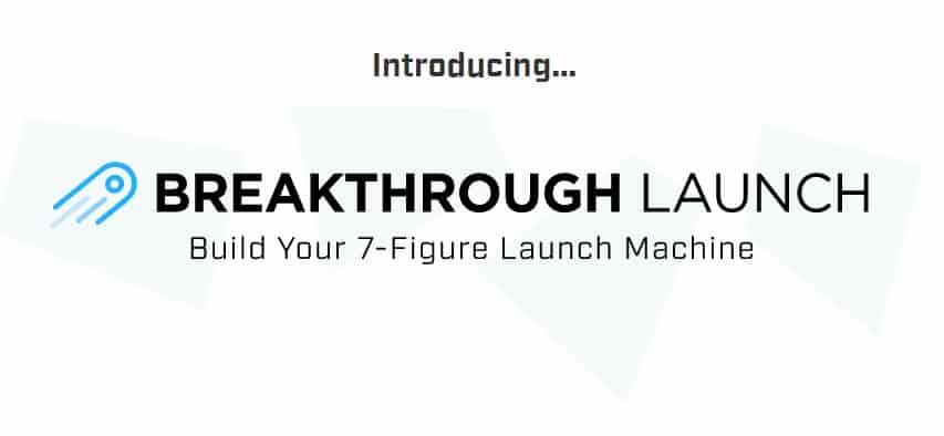 Breakthrough Launch 2019 by Ramit Sethi