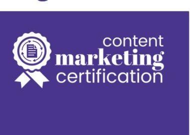 Content Marketing Certification by Jon Morrow