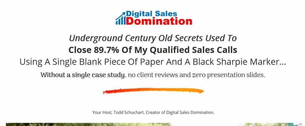 Digital Sales Domination by Todd Schuchart