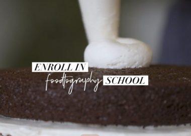 Foodtography school by Sarah Fennel
