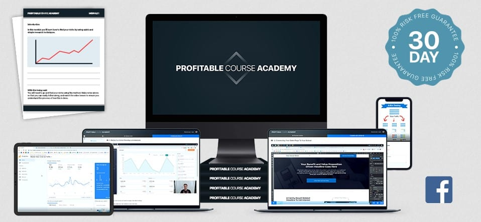 Profitable Course Academy by Aaron Ward