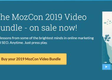The MozCon 2019 Video Bundle