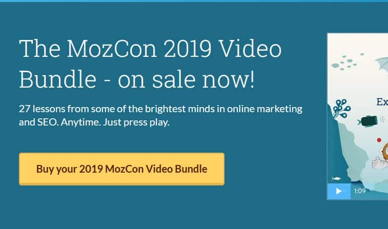 The MozCon 2019 Video Bundle