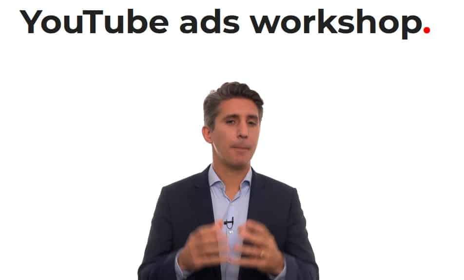 YouTube ads workshop by Tom Breeze