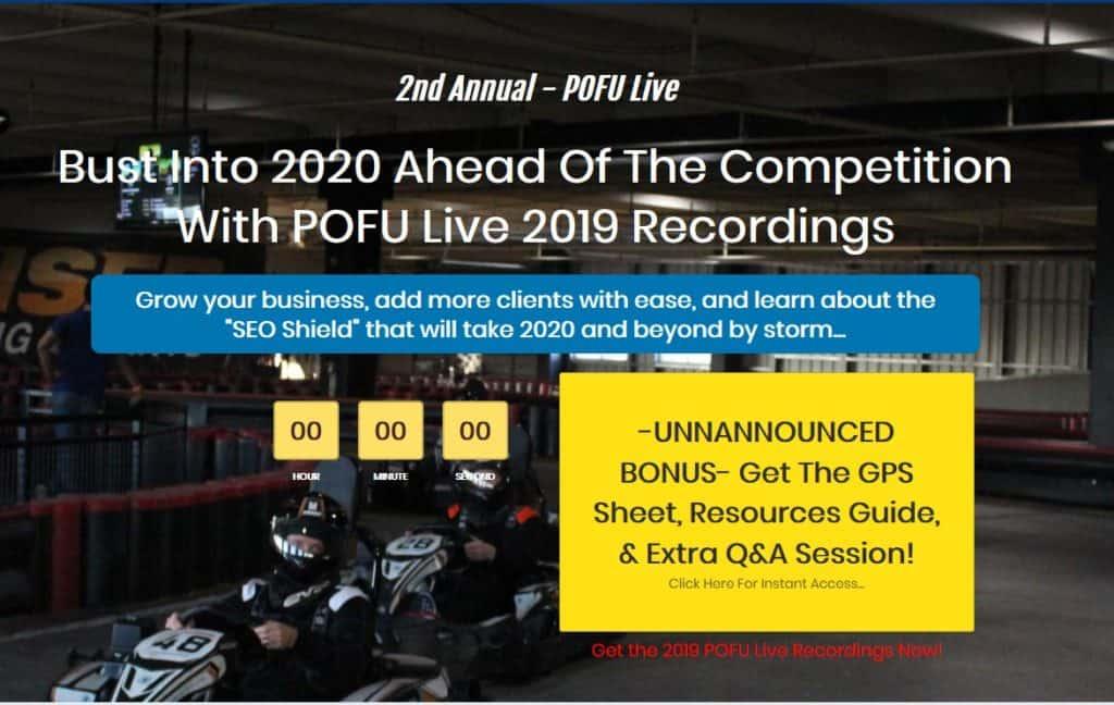 POFU Live 2019 Recordings