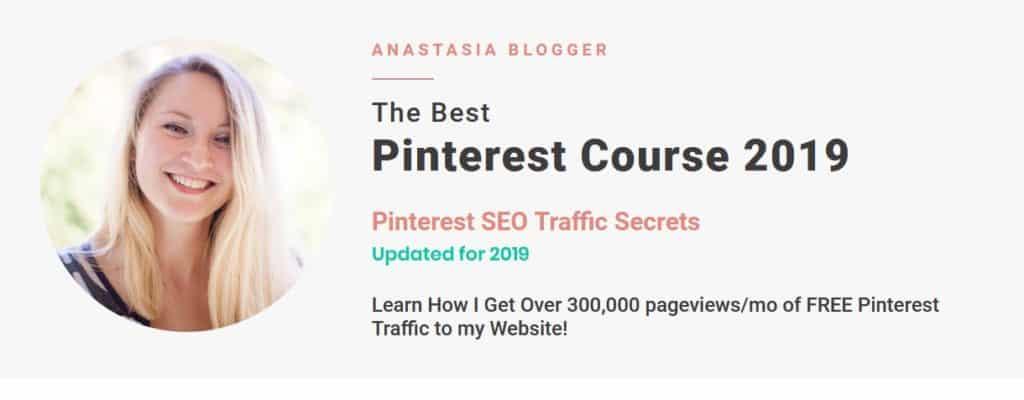 Pinterest SEO Traffic Secrets 2019 by Anastasia Blogger