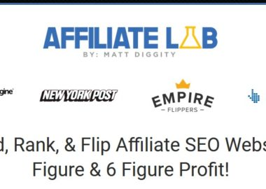 The Affiliate Lab by Matt Diggity