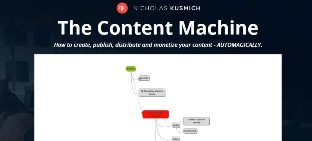 The Content Machine by Nicholas Kusmich