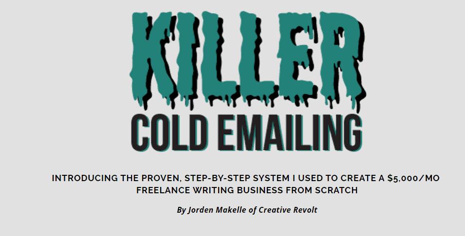 Killer Cold Emailing 2019 by Jorden Roper