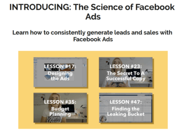The Science of Facebook Ads Professional by Mojca Zove