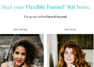 Flexible Funnel Kit by Regina Anaejionu