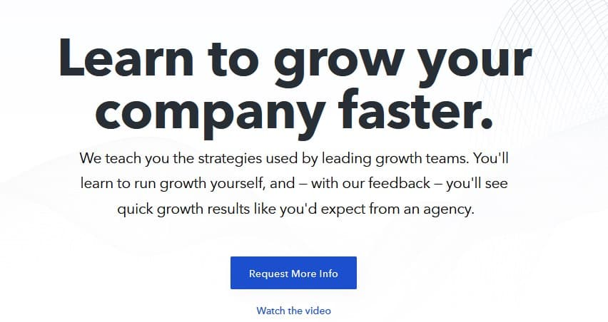Growth Training Self-Serve by Demandcurve