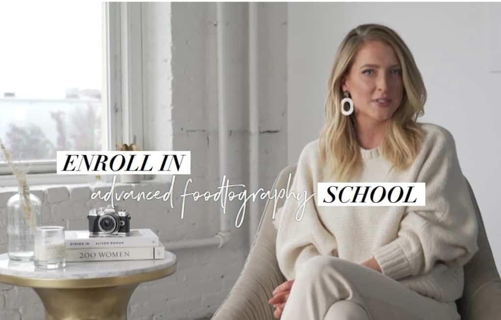 Advanced Foodtography School by Sarah Crawford