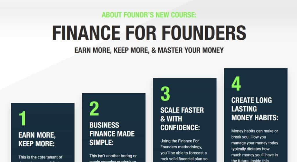 Finance For Founders by Foundr Alexa Von Tobel