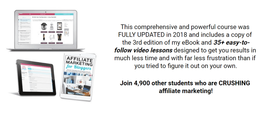 Affiliate Marketing For Bloggers The Master Course by Tasha