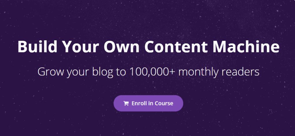 Build Your Own Content Machine by Nat Eliason