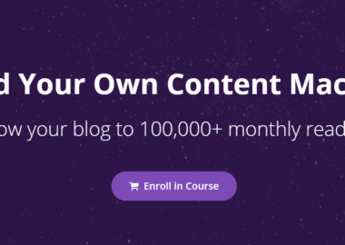 Build Your Own Content Machine by Nat Eliason