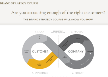 The Brand Strategy Course by Bernadette Jiwa